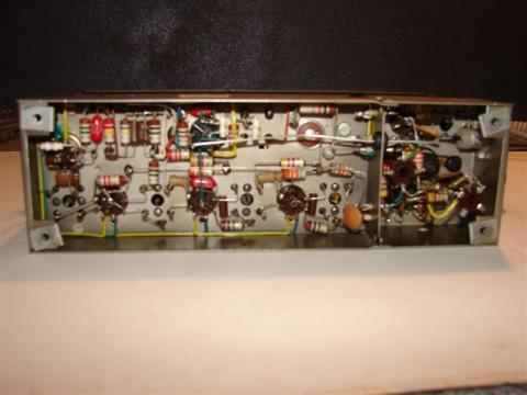 FM TUNER FMii detalhe dos componentes