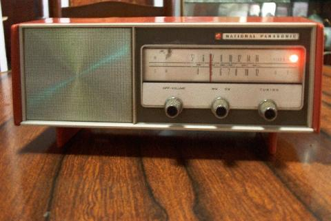 National Panasonic RE-250HB 2band