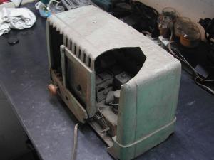 Ecophone EC112, 194? estragos