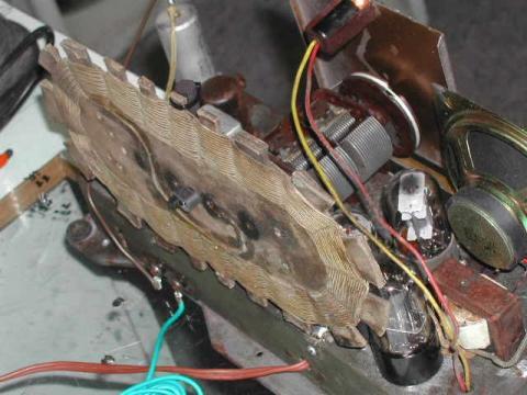 Ecophone EC112, 194? chassis