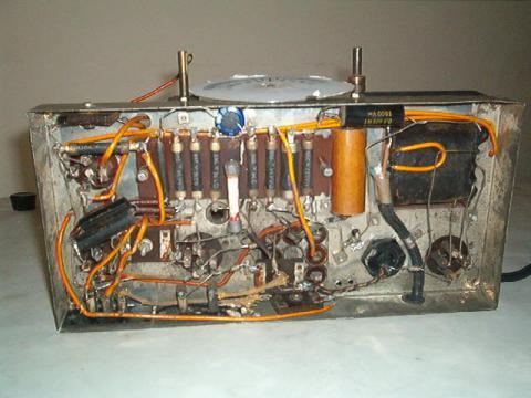 Supertelco chassis visto por cima