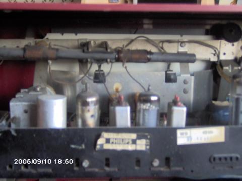 Telefunken Sonata outro detalhe do chassis