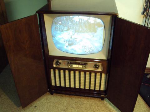 Detalhe TV Philips 21CX152A/04