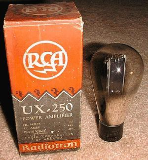 UX250 RCA and box