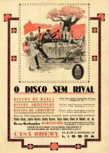 Publicidade - discos Odeon