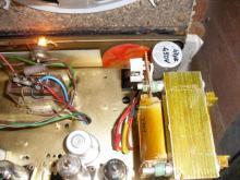 Detalhe transformador e condensador