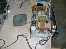 Outra imagem do recetor de rádio