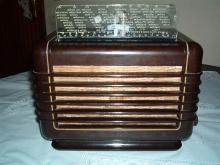 Philips Type 209 outra vista do rádio