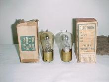 Pliotrons GE VT-13 Amber Glass