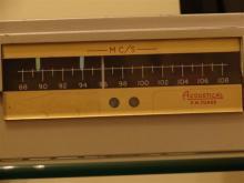 FM TUNER FMii detalhe do dial