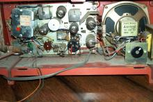 National Panasonic RE-250HB por trás