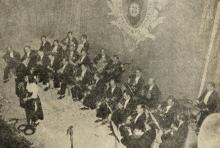 Foto orquestra tíipica da Emissora Nacional
