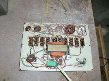 Analisador de válvulas, vista interior